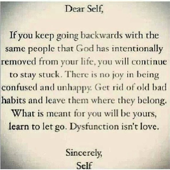 Let go.......